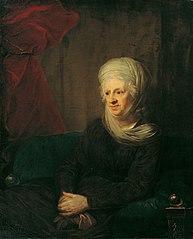 Eine alte Dame (Frau von Weinbrenner)