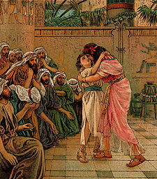 Joseph Forgives His Brothers