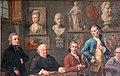 Joseph mc pherson, conversazione nello studio del pittore johann zoffany, 1772-28 (fi, gam) 02.jpg