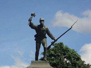 Alajuela Province - Juan Santamaría statue, built in 1887