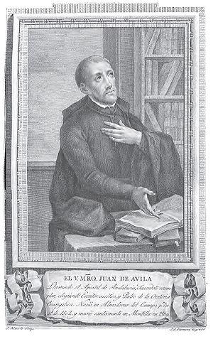Retrato de Juan de Ávila.