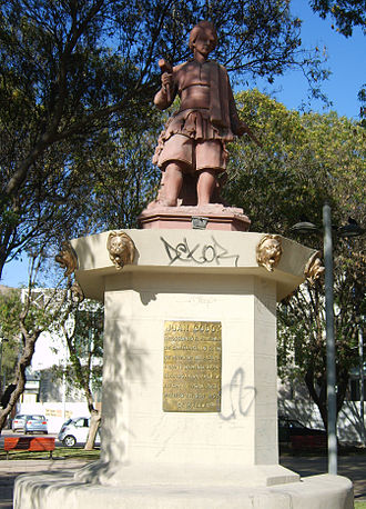 Juan Godoy - Statue of Juan Godoy in Copiapó