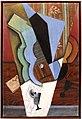 Juan gris, astrazione, (chitarra e bicchiere), 1913.jpg