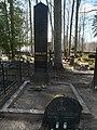 Juhan Liivi hauasammas Alatskivi kalmistul 2020.jpg