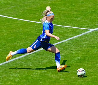 Julie Ertz - Playing in a friendly, May 2015
