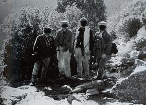 Battle of Tora Bora - The first US team to enter the Tora Bora mountain range