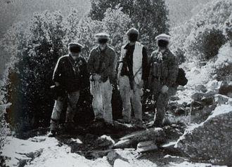 Battle of Tora Bora - The first US team to enter the Tora Bora mountain range
