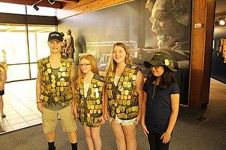 Junior Ranger Program - Junior Rangers at Abraham Lincoln Birthplace National Historic Site