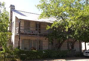 National Register of Historic Places listings in Bandera County, Texas - Image: Jureczki house 2009