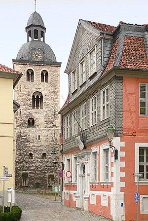 Königslutter - St Sebastian Church and town hall