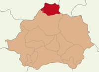 Kütahya location Domaniç.png