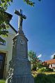 Kříž před kaplí, Žďár, okres Blansko.jpg