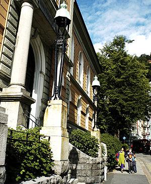 Bergen Academy of Art and Design - Bergen Academy of Art and Design - Main Building Strømgaten 1