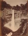 KITLV - 110638 - Kusakabe, Kimbei - Waterfall at Nikkō, Tochigi (日光市), Japan - circa 1890.tif