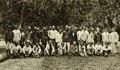 KITLV - 78333 - Kleingrothe, C.J. - Medan - Pensionable coolies of the Amsterdam Deli Company near Medan, Sumatra - circa 1900.tif