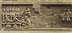 KITLV 40089 - Kassian Céphas - Relief of the hidden base of Borobudur - 1890-1891.jpg