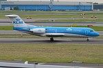 KLM Cityhopper, PH-KZD, Fokker F70 (28444028516).jpg