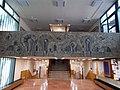 K building. Corridor's mosaic. - 33 Villányi út, Budapest.JPG