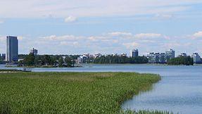 Skyline of Espoo