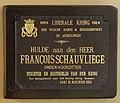 Kaft van het huldeboek - Cover of the commemoration book (30084621855).jpg