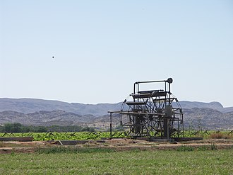 Kakamas - A water wheel in Kakamas