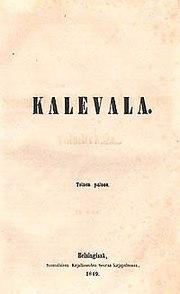 kalevala på svenska