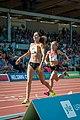 Kalevan Kisat 2018 - Women's 5000 m - Kristiina Mäki, Janica Rauma 1.jpg