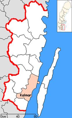 kalmar sverige kart Kalmar Municipality   Wikipedia kalmar sverige kart