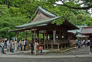 Kamakura-gū - The haiden