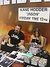 Kane Hodder, one of Jason's portrayors.