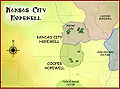 Kansas City Hopewell culture map HRoe 2010.jpg