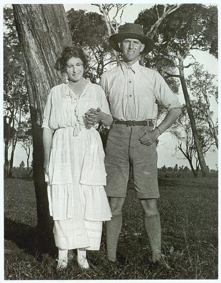 Karen Blixen and Thomas Dinesen 1920s