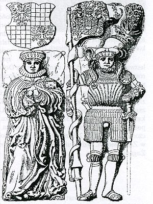 Anna of Sagan - The tomb of Charles I of Münsterberg-Oels and Anna of Sagan
