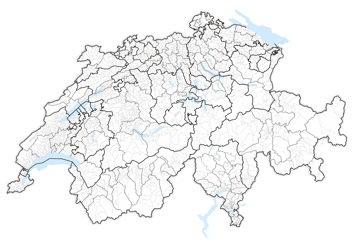 Districts of Switzerland Wikipedia