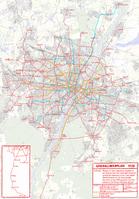Karte Straßenbahn München - Generallinienplan 1928.png