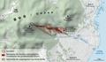 Karte des pyroklastischen Stroms vom 3. Juni 1991 am Unzen.png