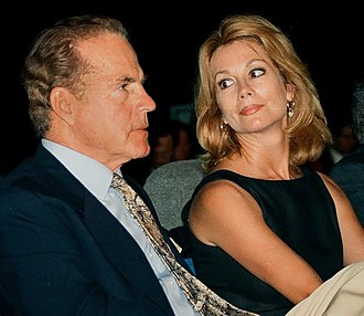 Kathie Lee Gifford - Kathie Lee and Frank Gifford in 1996