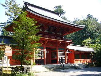 Katori Shrine - Image: Katori jinguu shrine roumon,katori city,japan
