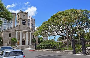 Kawaiahaʻo Church - Image: Kawaiahao Church, Honolulu