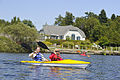 Kayakers on Lily Lake in Saint John, New Brunswick, Canada.jpg