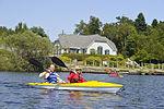 Kayakers on Lily Lake in Saint John, New Brunswick, Canada.jpg