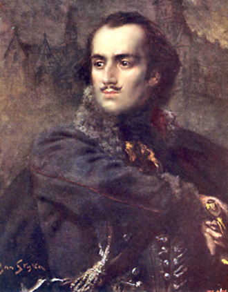 Casimir Pulaski - A painting of Casimir Pulaski, by Jan Styka.