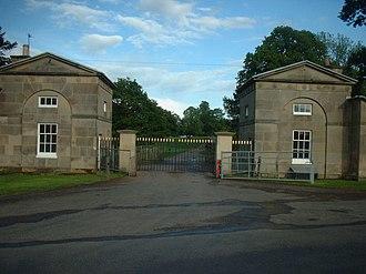 Kedleston - Image: Kedleston Hall 2