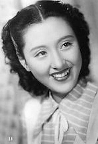 Keiko Tsushima - Keiko Tsushima in the 1949 movie Kanashiki Kuchibue