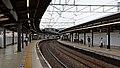 Keio-Inadazutsumi Station platforms 20170630.jpg