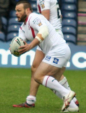 Keiron Cunningham - Cunningham playing for St Helens in 2010