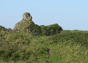 Kenfig Castle - Ruins of Kenfig Castle