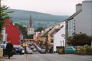 Kenmare Town in Munster, Ireland
