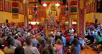 Khenpo Karthar Rinpoche - Khenpo Karthar Rinpoche teaching at Karma Triyana Dharmachakra in May, 2013.