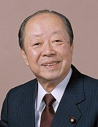宮沢喜一元総理大臣の顔画像